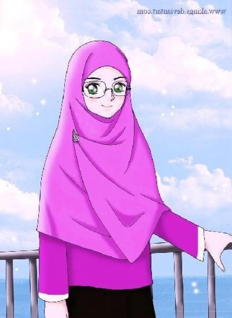 Bentuk Muslimah Kartun Cantik Berhijab Ftd8 75 Gambar Kartun Muslimah Cantik Dan Imut Bercadar