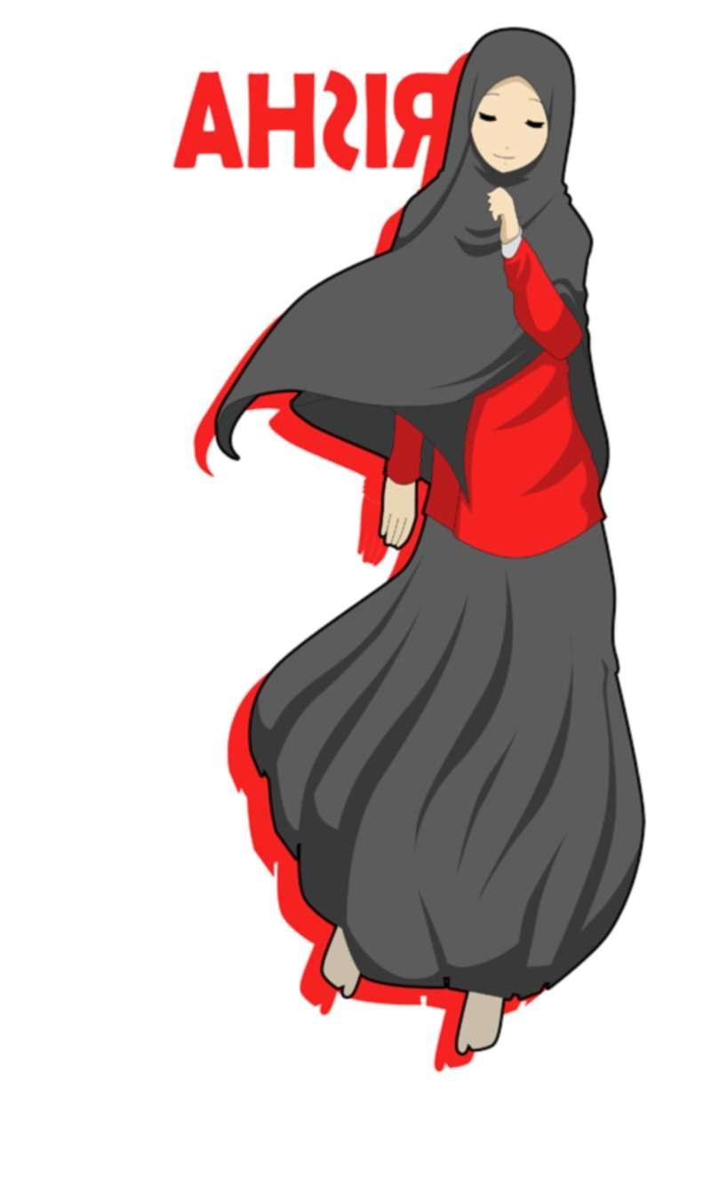 Bentuk Muslimah Kartun Cantik Berhijab H9d9 17 Gambar Kartun Muslimah Cantik Berhijab Anak Cemerlang