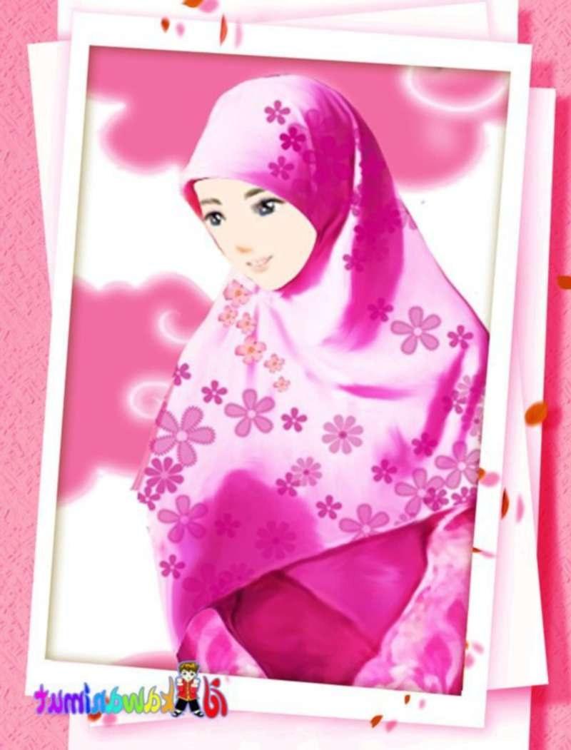 Bentuk Muslimah Kartun Cantik Berhijab Wddj 17 Gambar Kartun Muslimah Cantik Berhijab Anak Cemerlang
