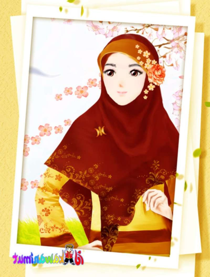 Bentuk Muslimah Kartun Cantik Berhijab Y7du 17 Gambar Kartun Muslimah Cantik Berhijab Anak Cemerlang