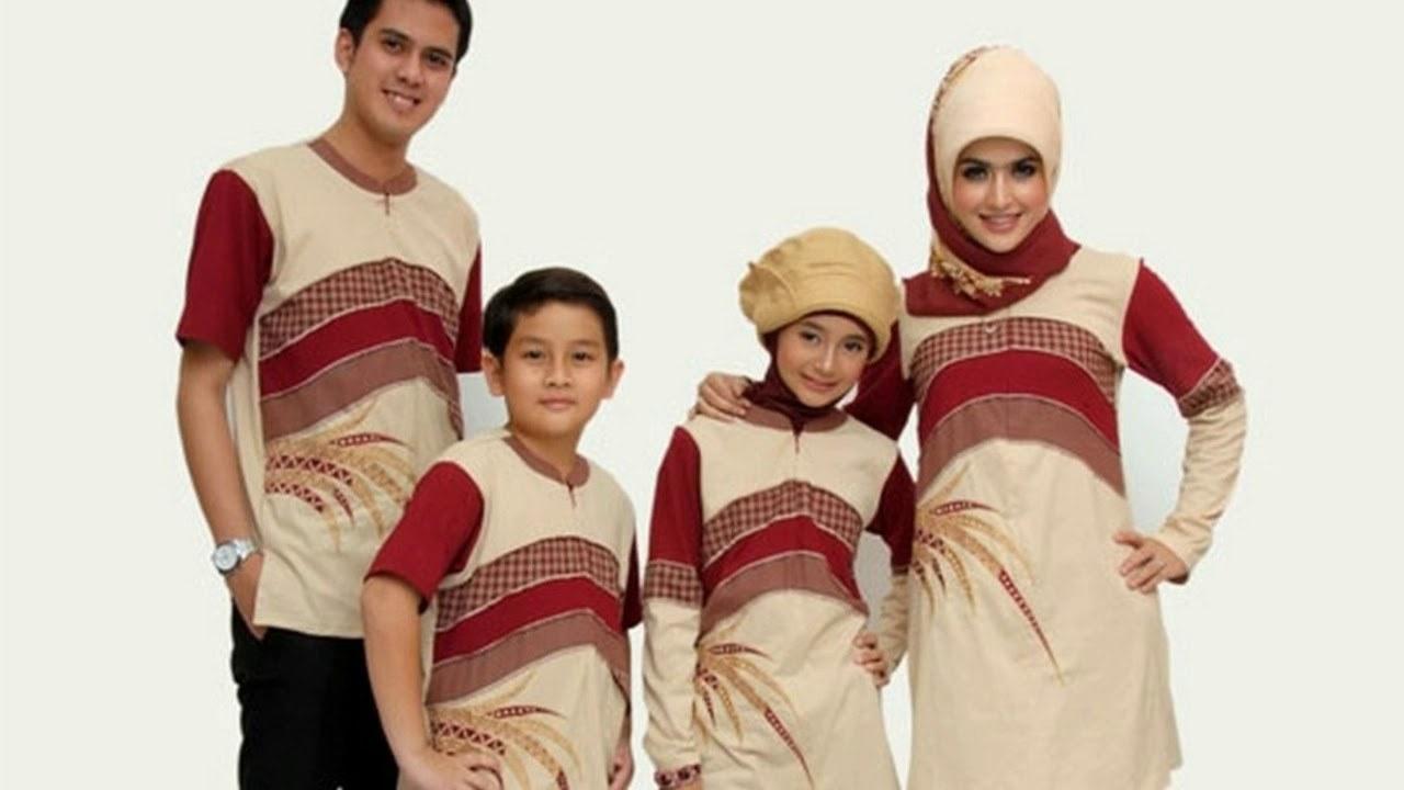 Bentuk Referensi Baju Lebaran Keluarga S1du Baju Couple Keluarga Edisi Lebaran