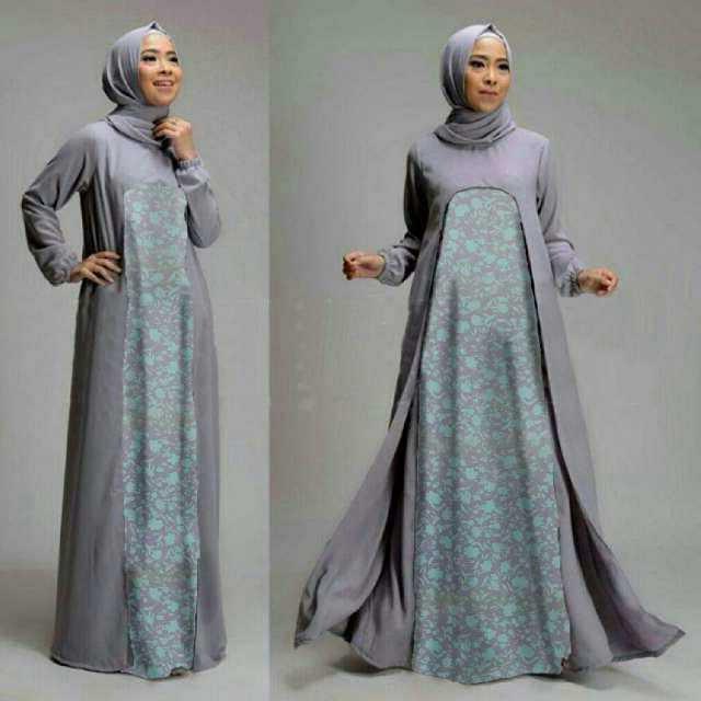 Bentuk Setelan Baju Lebaran Wanita Irdz Model Baju Setelan Gamis Muslim Wanita Terbaru Dan Modern