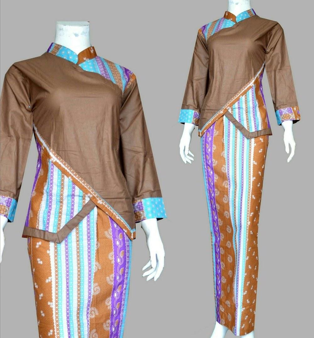 Bentuk Setelan Baju Lebaran Wanita Tqd3 Jual Diskon Kebaya Batik Kartini Setelan Rok Blus Baju