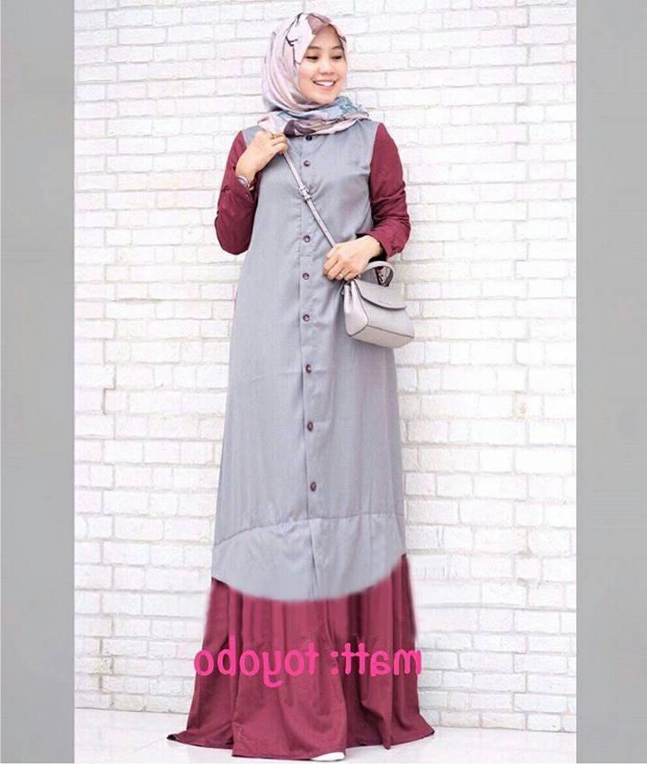 Bentuk Trend Warna Baju Lebaran 2018 Thdr Trend Baju Lebaran Terbaru 2018 Davina Abu Marun Model
