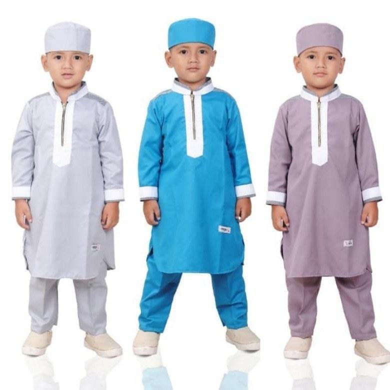 Design Baju Lebaran 2018 Anak Laki Laki 3id6 15 Tren Model Baju Lebaran Anak 2019 tokopedia Blog