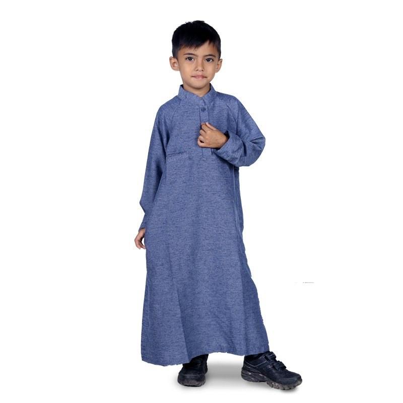 Design Baju Lebaran 2018 Anak Laki Laki Kvdd Gamis Anak Terbaru Penyemangat Anak Ibadah Ramadhan
