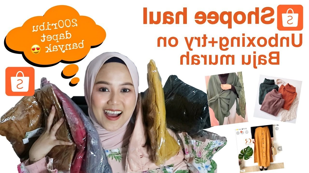 Design Baju Lebaran 2019 Shopee J7do Shopee Haul 2019 Baju Murah