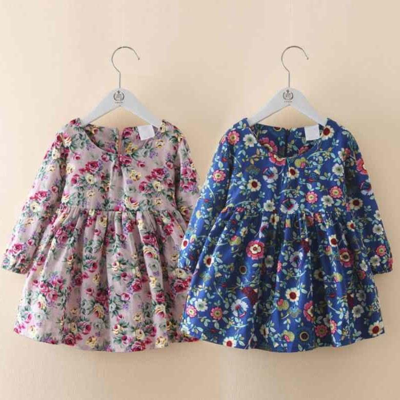 Design Baju Lebaran Anak Perempuan 2018 Dwdk 15 Tren Model Baju Lebaran Anak 2019 tokopedia Blog