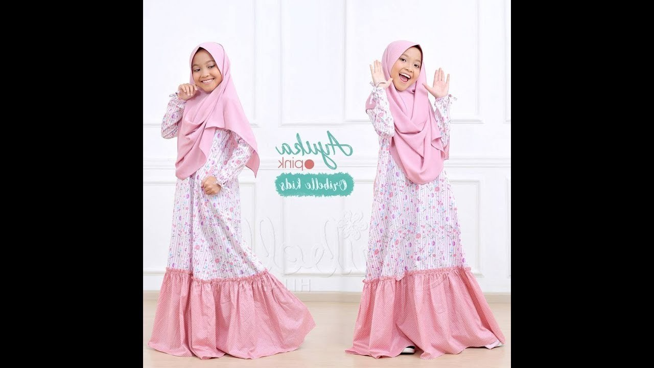 Design Baju Lebaran Anak Perempuan 2018 Tqd3 Model Baju Gamis Anak Perempuan Terbaru 2018