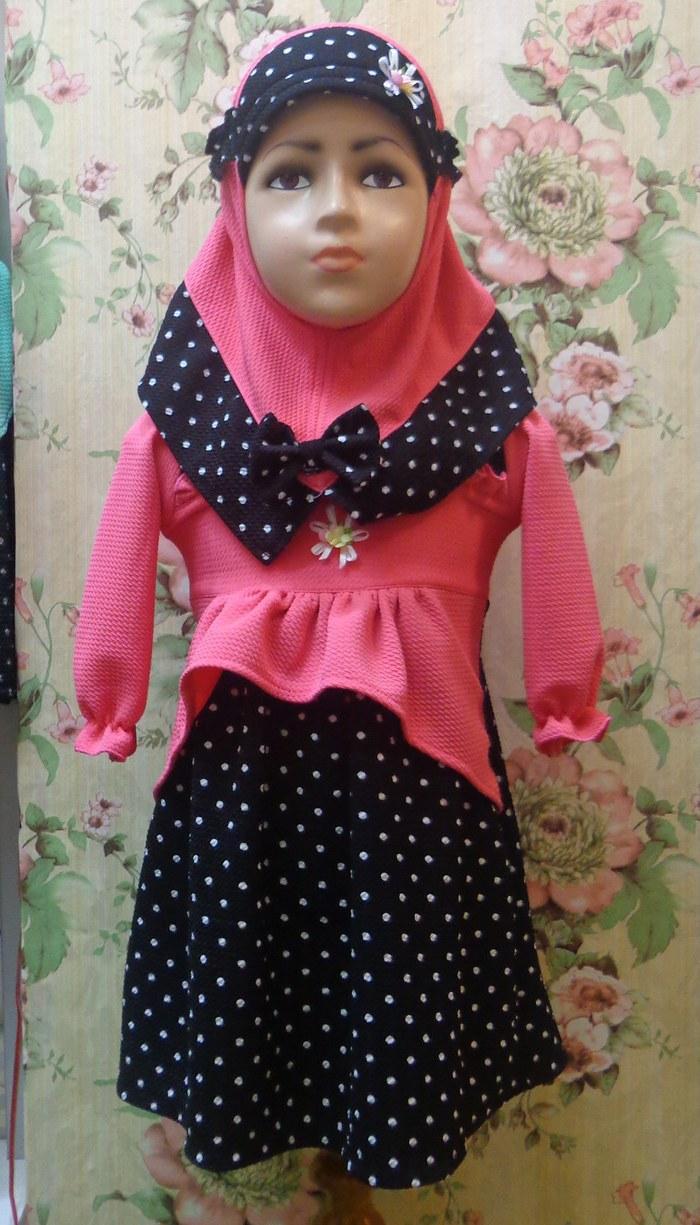Design Baju Lebaran Anak Perempuan Nkde Jual Gamis Anak Perempuan Baju Muslim Bayi Baju Lebaran