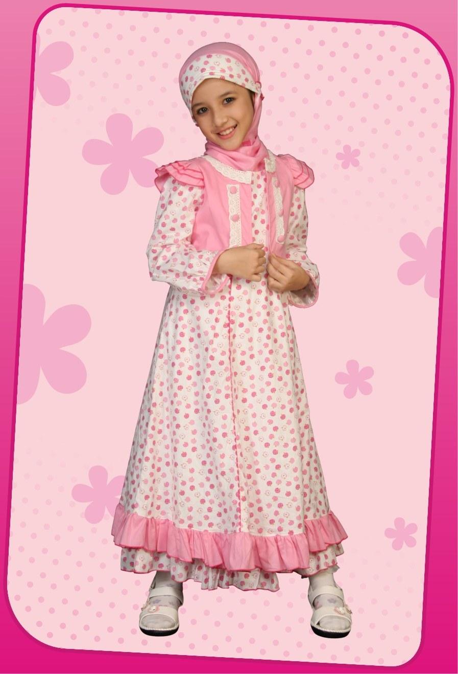 Design Baju Lebaran Anak Perempuan Wddj Be Happy Young Mother Busana Muslim Anak 2 Koleksi