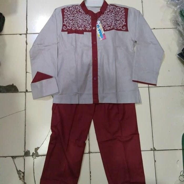 Design Baju Lebaran Anak Umur 11 Tahun 0gdr Jual Setelan Koko Baju Koko Bordir Anak Umur 5 11 Tahun