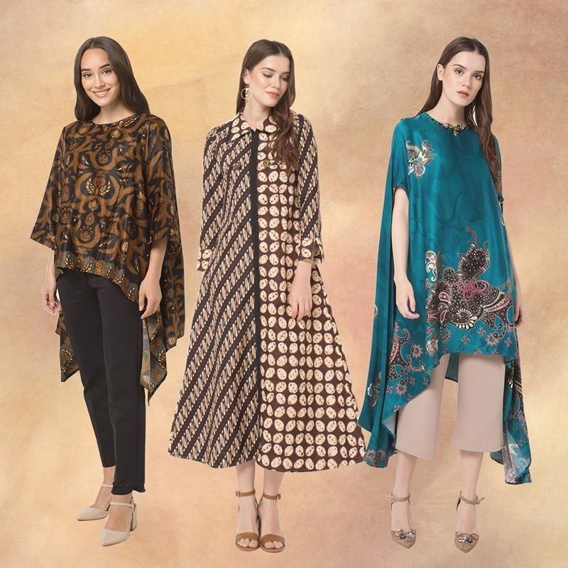 Design Baju Lebaran Cantik Bqdd 20 Busana Batik Cantik Untuk Alternatif Baju Lebaran