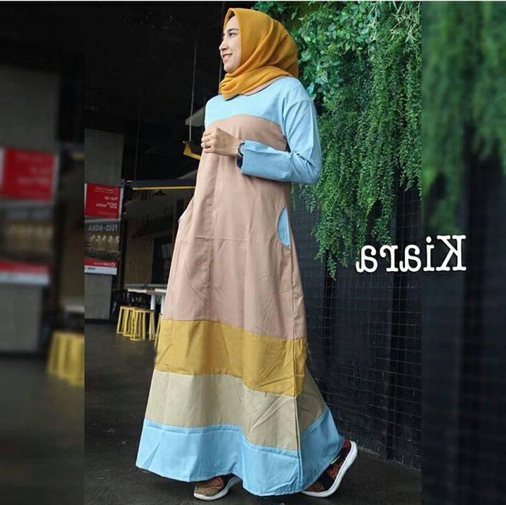 Design Baju Lebaran Cantik Dddy Baju Lebaran Terbaru Cantik Kiara Moka Model Baju Gamis