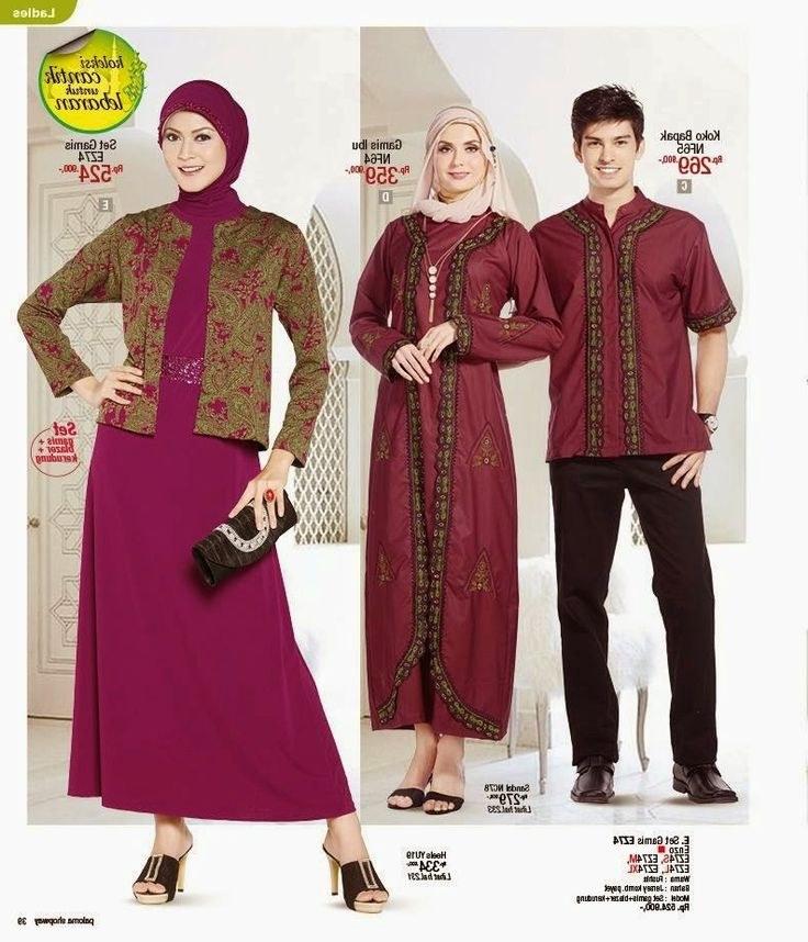Design Baju Lebaran Cantik Dwdk Baju Lebaran Keluarga 2019 Paling Cantik