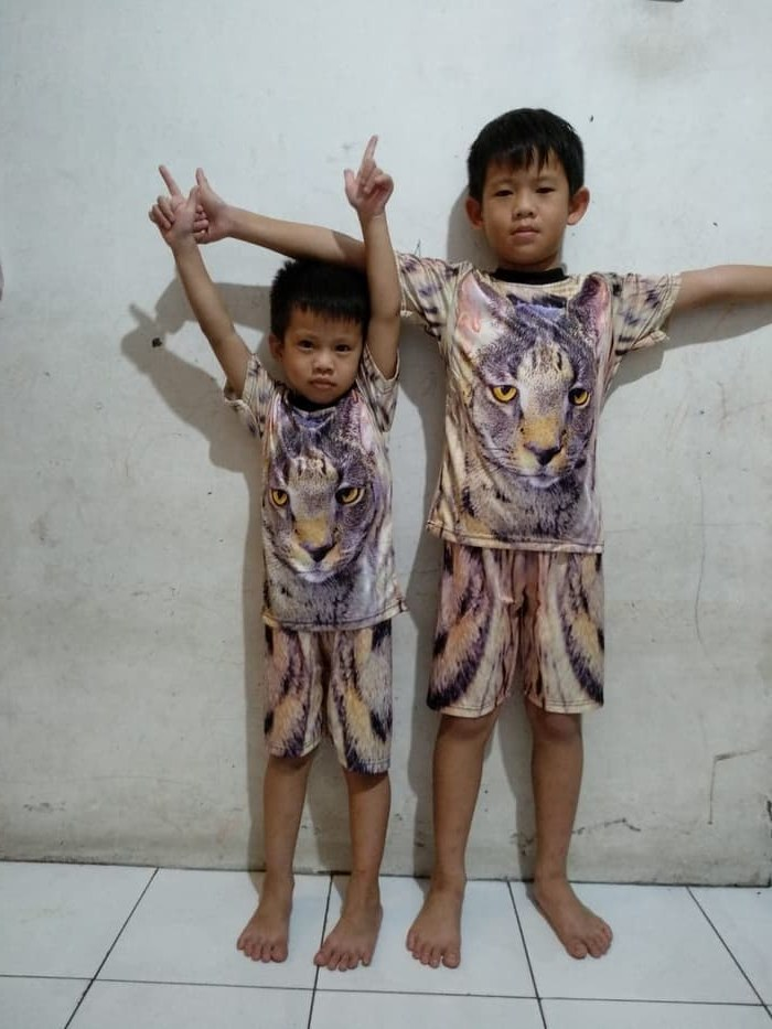 Design Baju Lebaran Celana Dan atasan 87dx Jual Kenny Stelan 2in1 Baju Anak Laki Laki atasan Kaos Dan