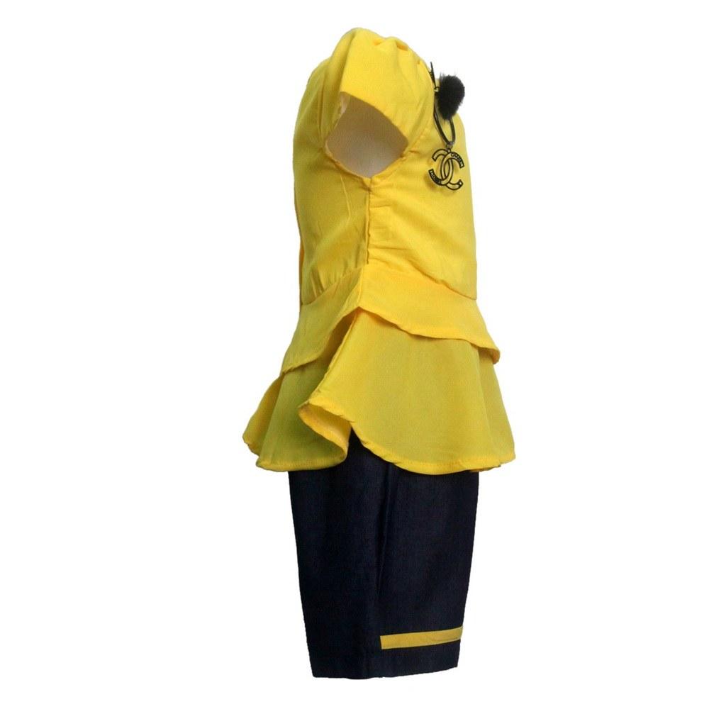 Design Baju Lebaran Celana Dan atasan 8ydm Setelan atasan Dan Celana Anak 2762hrg Rp 66 500 Pcs 1