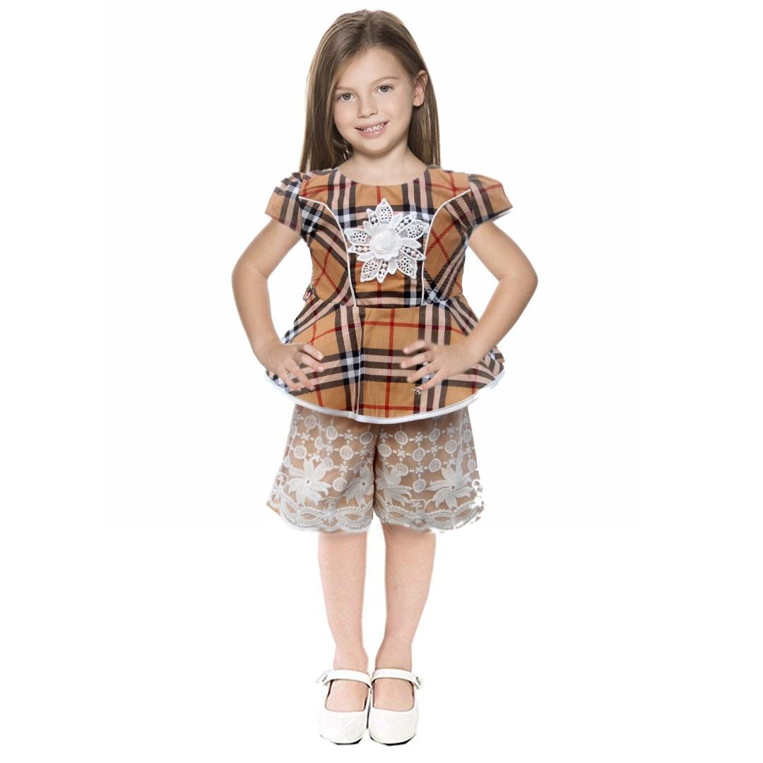 Design Baju Lebaran Celana Dan atasan Dwdk Setelan atasan Dan Celana Anak 2793hrg Rp 78 000 Pcs 1
