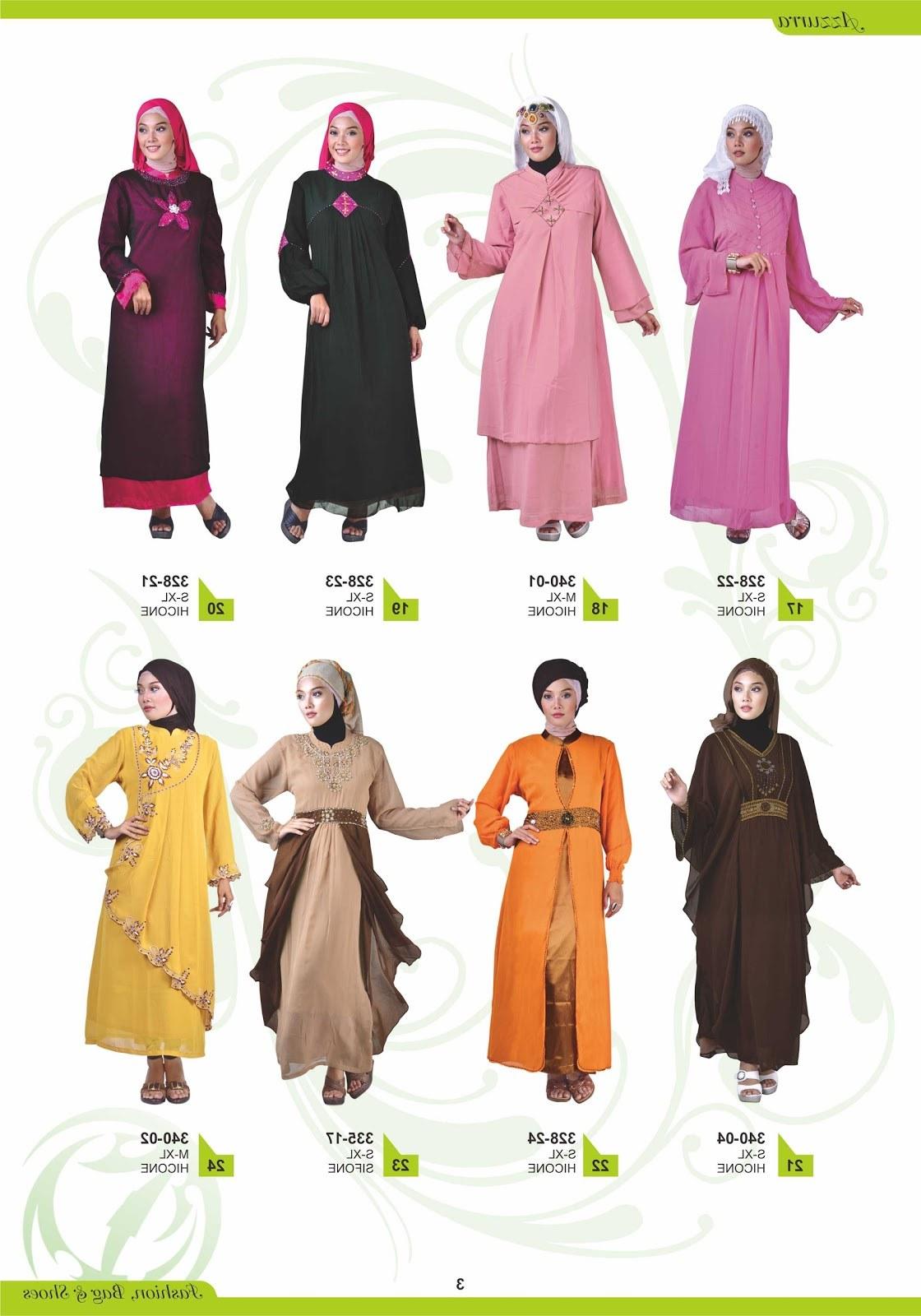 Design Baju Lebaran Dewasa Zwdg Grosir Pakaian Bandung Katalog Azzura Paket Lebaran