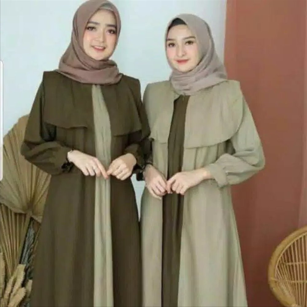 Design Baju Lebaran Dewasa Zwdg Jual Baju Gamis Syari Wanita Dewasa Muslim Muslimah Baju