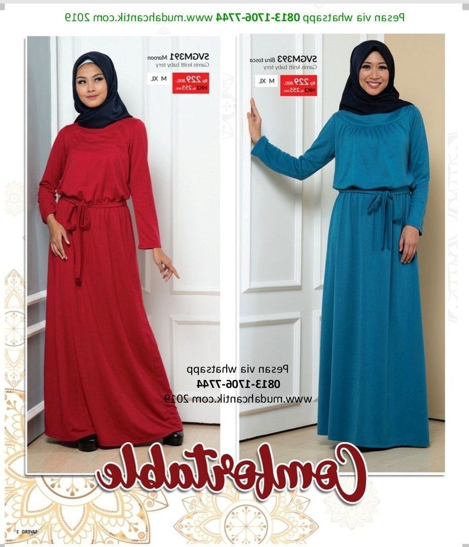 Design Baju Lebaran Hits 3id6 Baju Lebaran Hits 2019 Gambar islami
