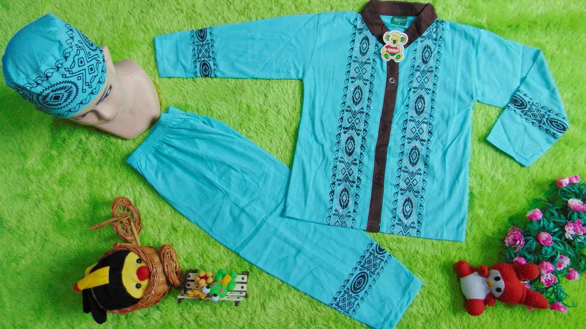 Design Baju Lebaran Laki Laki 4pde Paling Laris Setelan Baju Koko Muslim Lebaran Ramadhan