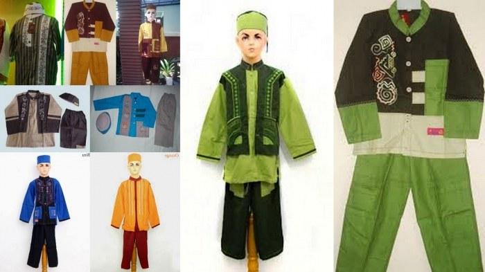 Design Baju Lebaran Laki Laki Gdd0 19 Model Baju Muslim Anak Laki Laki Modern