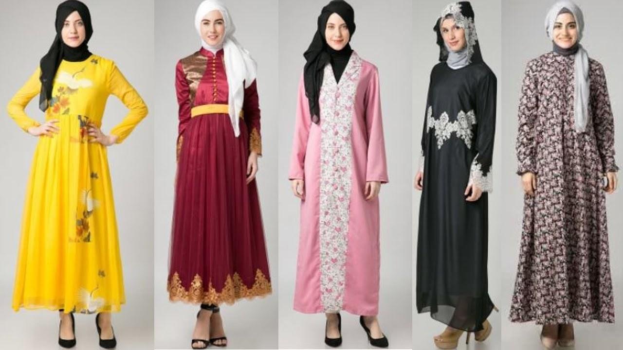 Design Baju Lebaran Masa Kini 4pde Model Busana Muslim Motif Terbaru Trend Masa Kini