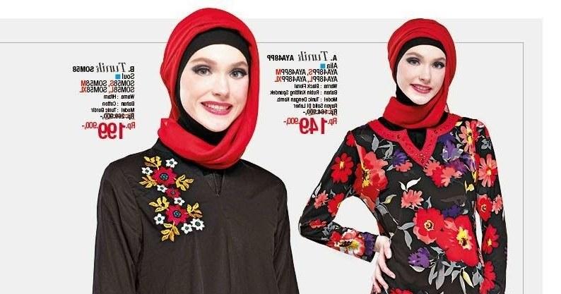 Design Baju Lebaran Masa Kini Qwdq Baju Lebaran Wanita Model Gamis Casual Trendy Terbaru
