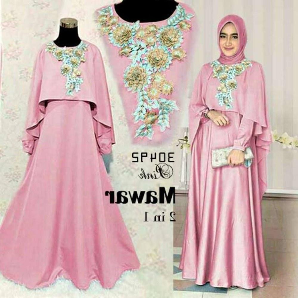 Design Baju Lebaran Model Terbaru 87dx Jual Baju Muslim Wanita Model Terbaru Gamis Lebaran Di