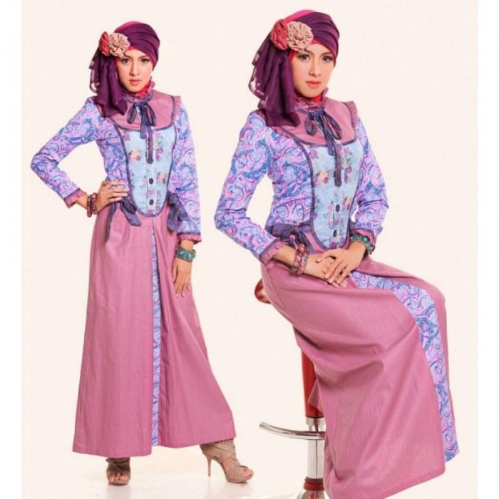 Design Baju Lebaran orang Tua S5d8 17 Model Baju atasan Gamis Lebaran Modis Dan Cantik
