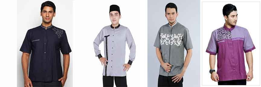 Design Baju Lebaran Pria 2018 Zwd9 Trend Baju Muslim Pria Motif Casual Lebaran 2018 My Blog