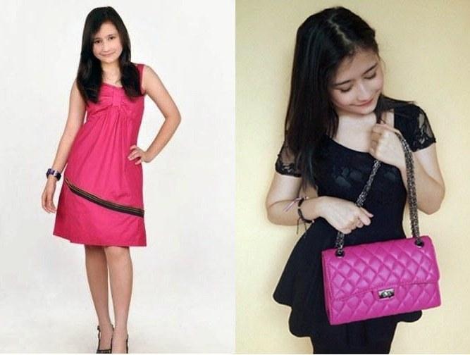 Design Baju Lebaran Prilly Latuconsina Drdp Model Baju Elegan Terbaru Prilly Latuconsina