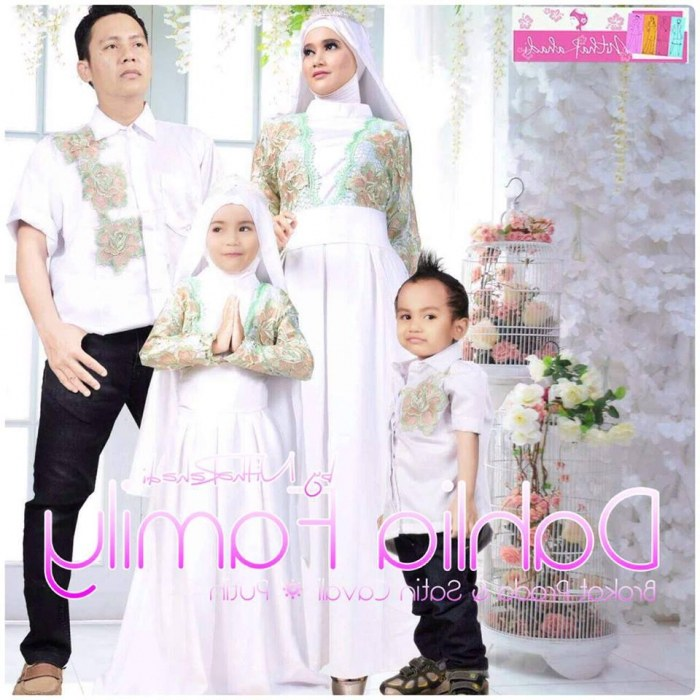 Design Baju Lebaran Putih Keluarga Dddy 22 Baju Lebaran Keluarga Warna Putih Modern