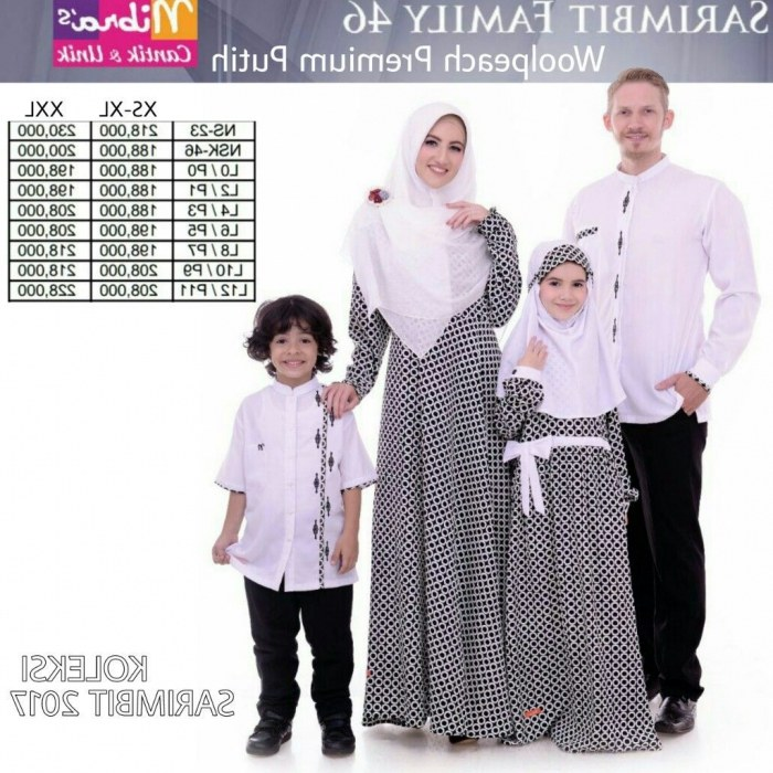 Design Baju Lebaran Putih Keluarga Thdr 22 Baju Lebaran Keluarga Warna Putih Modern
