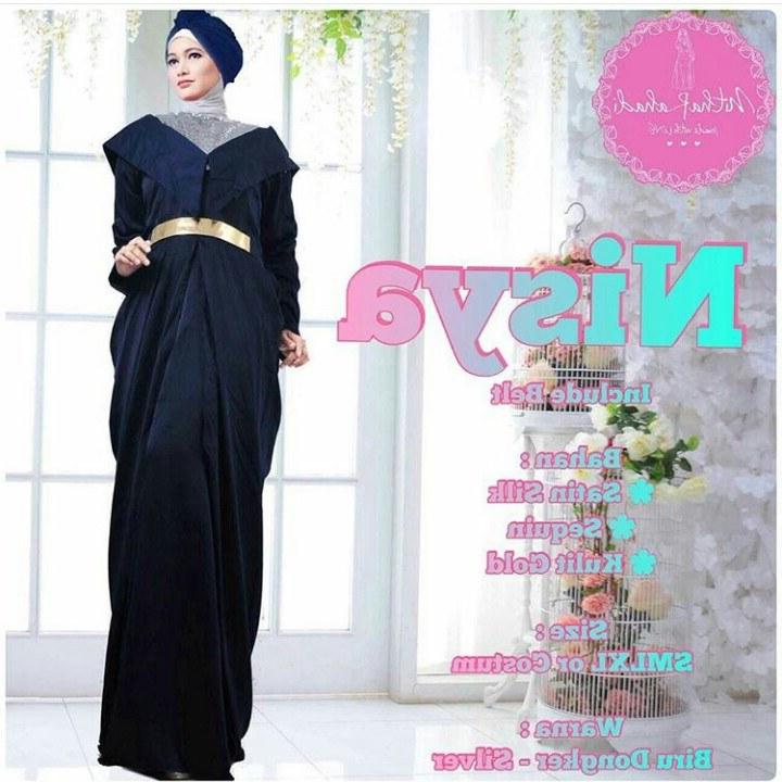Design Baju Lebaran Seragam J7do Baju Pesta Dan Baju Lebaran Seragam Keluarga Nisya Dress