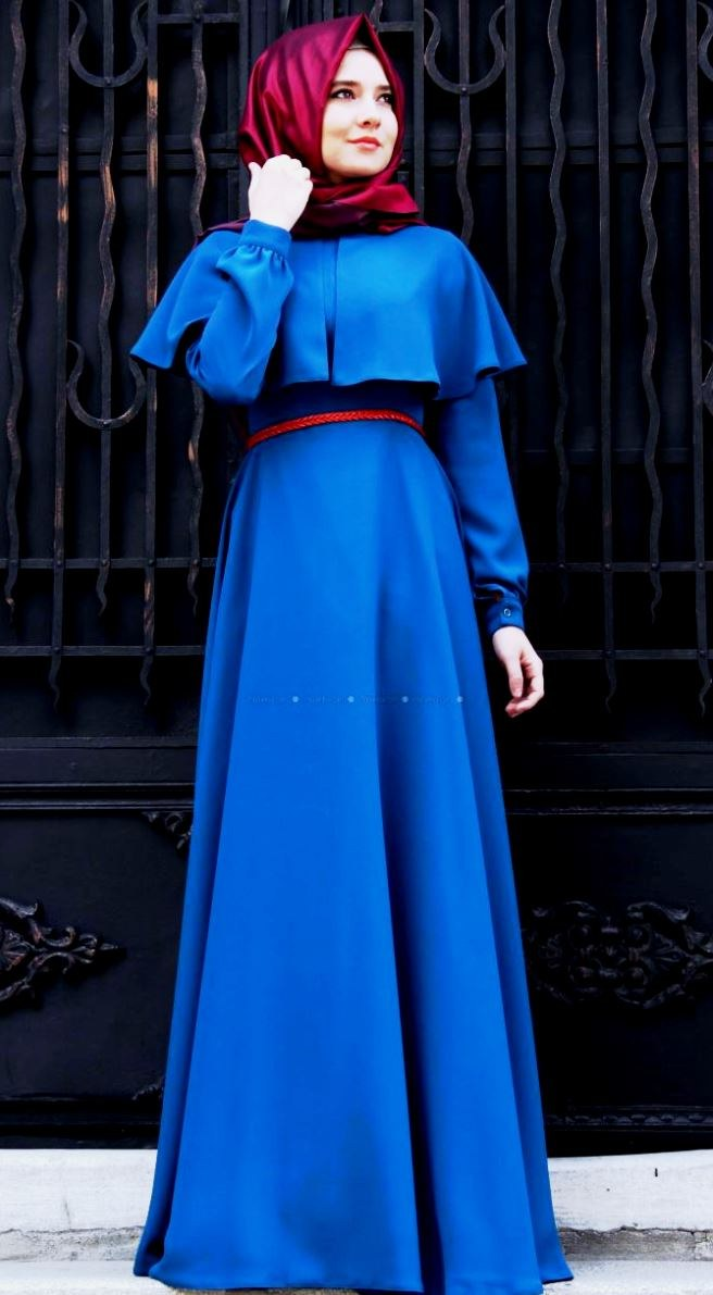 Design Baju Lebaran Tahun 2018 Txdf 25 Trend Model Baju Muslim Lebaran 2018 Simple & Modis