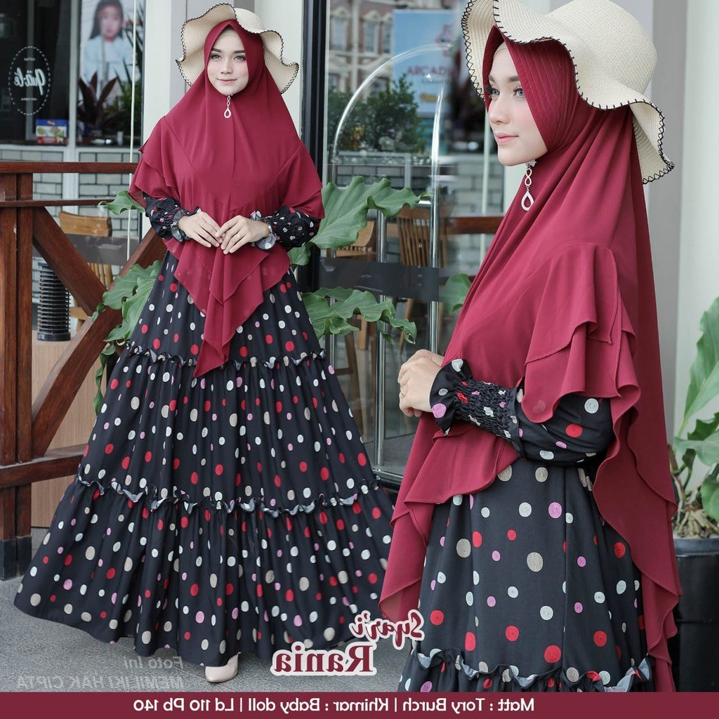 Design Baju Lebaran Terbaru 2020 Ipdd Model Baju Gamis Lebaran 2020 Rania Gamisalya