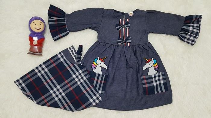 Design Baju Lebaran Terbaru 2020 S1du Trend Model Baju Gamis Terbaru Remaja Wanita Lebaran 2020