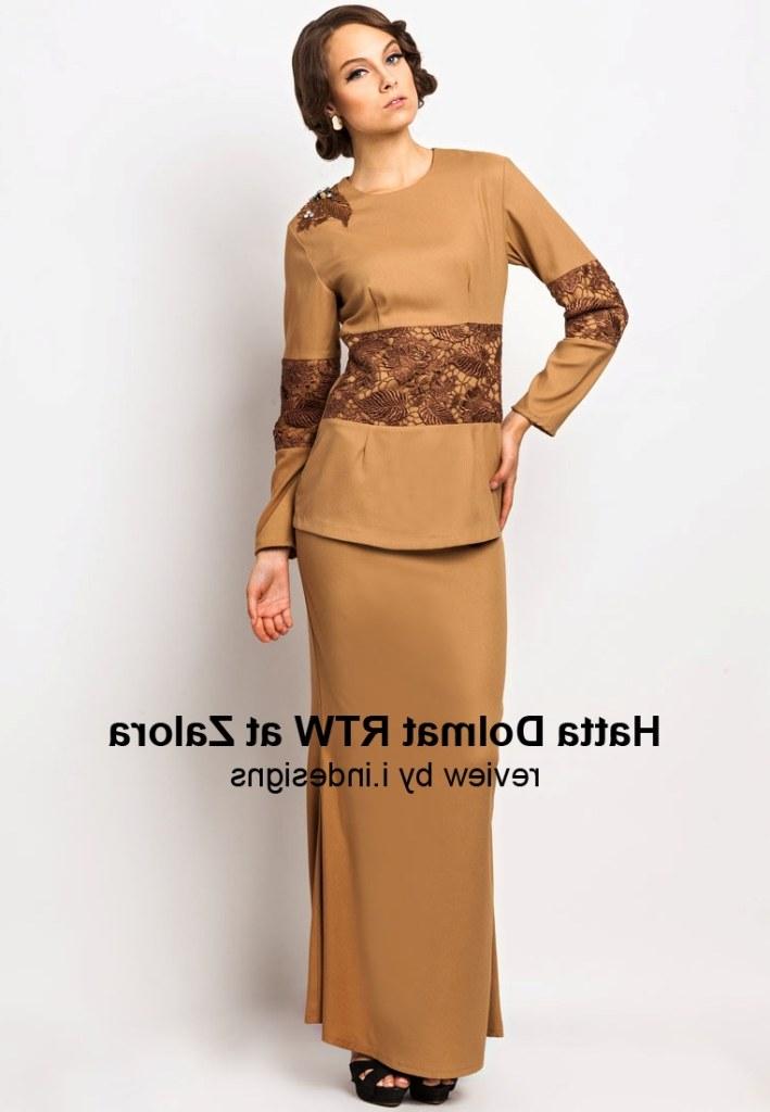 Design Baju Lebaran Terkini S1du Baju Hari Raya Collection by Hatta Dolmat Rtw We Were
