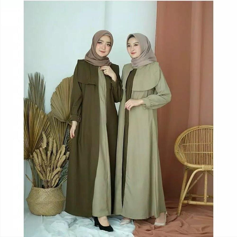 Design Baju Lebaran Wanita Dewasa 3id6 Jual Baju Gamis Syari Wanita Dewasa Muslim Muslimah Baju