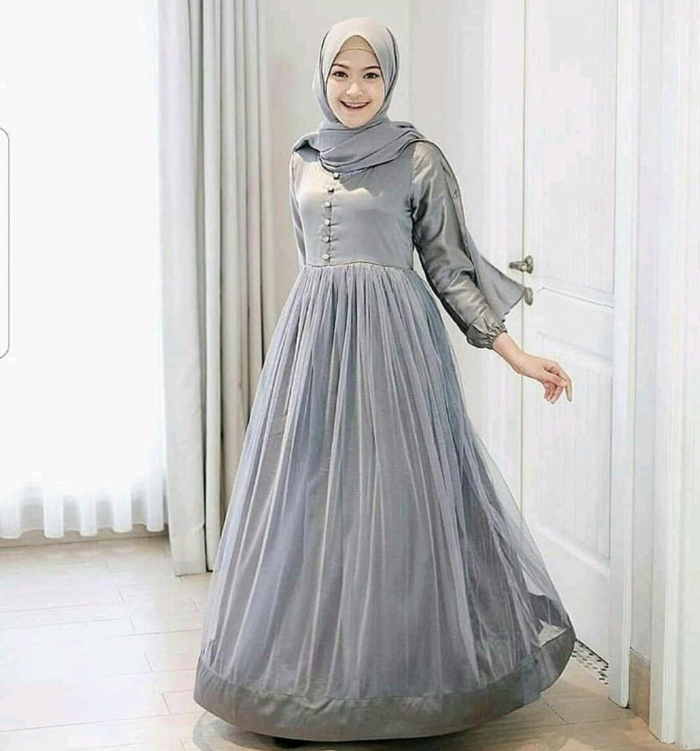 Design Baju Lebaran Wanita Dewasa Ffdn Jual Dress Muslim Gamis Wanita Dewasa Busana Muslim
