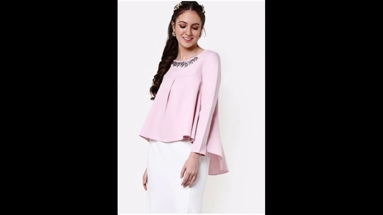 Design Baju Lebaran Wanita Nkde Baju Muslim atasan Blouse Untuk Lebaran 2017
