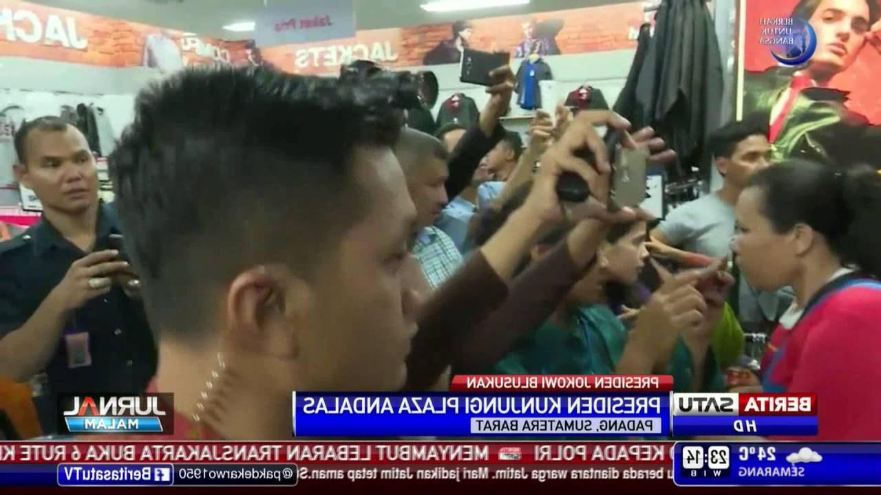 Design Belanja Baju Lebaran 87dx Jokowi Belanja Baju Di Plaza andalas Untuk Lebaran