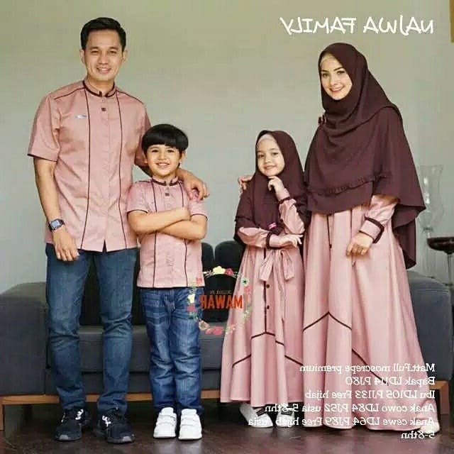 Design Desain Baju Lebaran Keluarga E6d5 Model Baju Lebaran Keluarga Terbaik 2020 Desain Mewah Dan