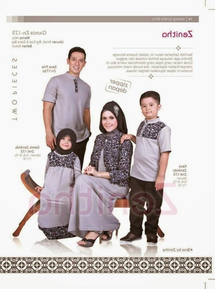 Design Desain Baju Lebaran Keluarga J7do Baju Lebaran Keluarga 2014 Paling Cantik