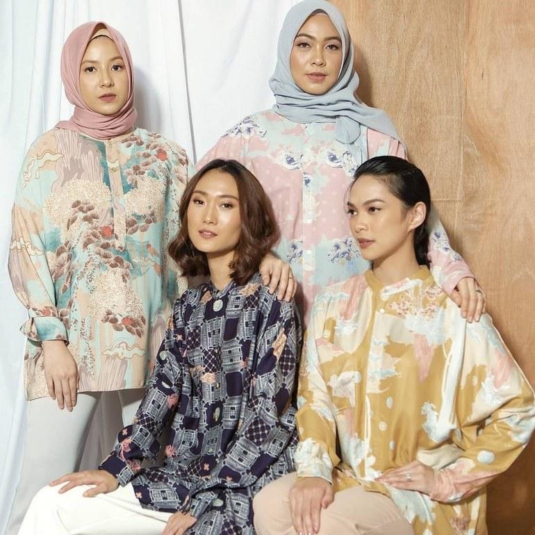 Design Desain Baju Lebaran Keluarga Nkde 830 Ide Desain Baju Lebaran Gratis Terbaik Untuk Di Contoh