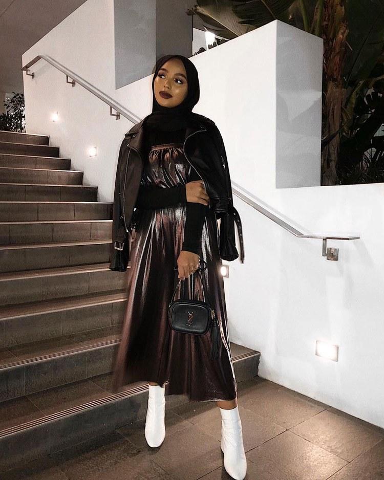 Design Fashion Muslimah Kekinian Dwdk 60 Fashion Hijab Casual Remaja Simple Kekinian