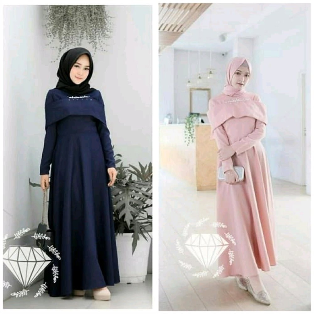 Design Fashion Muslimah Kekinian S5d8 Jual Dress Pesta Baby Pink Cantik Gaun Kondangan