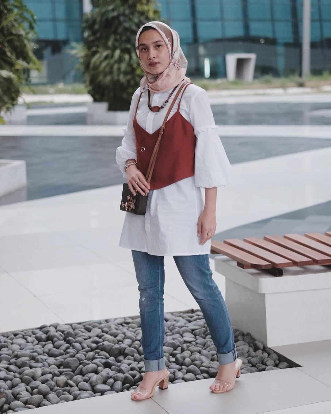 Design Fashion Muslimah Kekinian Thdr Hijab Style Kekinian